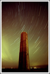 Tower Trails and the odd Meteor (Christian Davies) Tags: searchthebest essex kodakportra160vc walton naze nikonfg chrisdavies supershot flickrsbest abigfave superbmasterpiece diamondclassphotographer flickrdiamond ysplix platinumheartaward novac41presskit caddy359 33c650mins1stop5minsblix bppslideshow bppslideshowfavorite wwwessexeyescouk damniwish essexpictures essexpics wwwchristiandaviescom lptowers