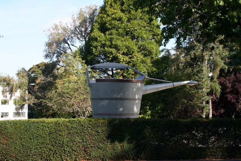 World's Larges Watering Can - Victoria