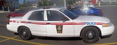 Autostitch of a Canadian Forces Ford Crown Victoria military police car... (Steve Brandon) Tags: auto autostitch panorama ontario canada ford car geotagged parkinglot automobile widescreen ottawa voiture supermarket militarypolice policecar suburb grocerystore nepean shoppersdrugmart picerie  supermarch policecruiser patrolcar crownvic canadianforces  fordcrownvictoria foodbasics  policeinterceptor fordmotorcompany merivaleroad