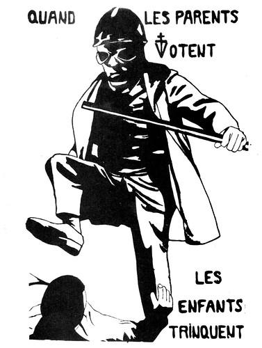 Flugblatt 1968 Paris