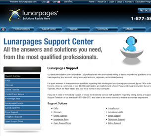 LunarPages Contact Information