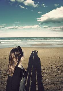 Kiss on Shadow