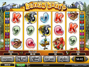 free slot game bonus bear