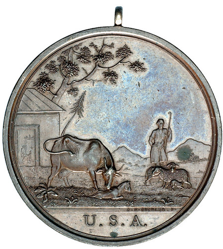 Seasons Indian Peace Medal