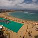 Record Guinness de La Toalla mas grande del mundo.Playa de Las Canteras.Las Palmas de Gran Canaria