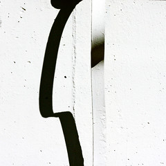 Profile (daliborlev) Tags: shadow abstract metal wall square minimal brno minimalism foundface mundanedetail humanhead
