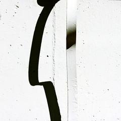 Profile (daliborlev) Tags: shadow abstract metal wall square minimal brno minimalism foundface mundanedetail humanhead