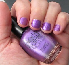 Piggy Polish, Smootch (meliestar) Tags: purple nailpolish smootch piggypolish