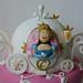 A Constança adora as princesas e a sua preferida é a Cinderela! Escolhendo para o seu aniversário a carruagem da Cinderela! Parabéns Constança...