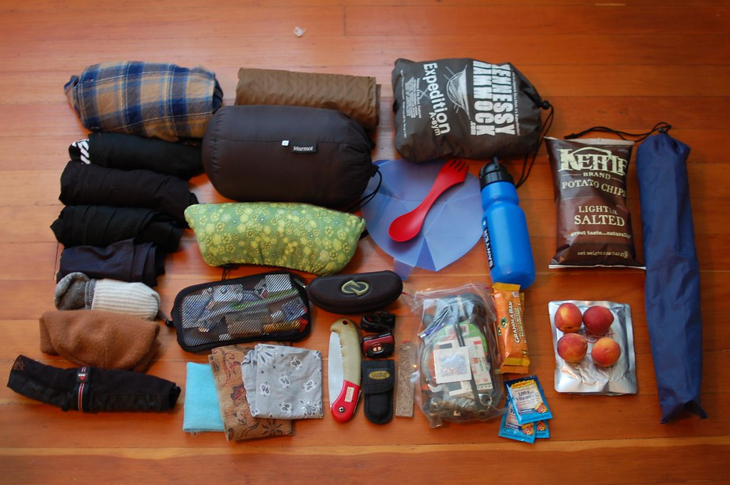 SON Packing List for Middle Fork Snoqualmie