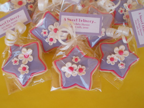 Whimsical Star Cookie Favors