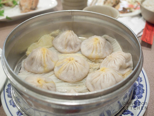 Soup Dumplings (xiao long bao) from Taiwan Cafe