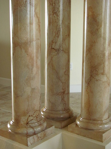 Faux Finishing Marble Art-Faux Designs Naples Fl