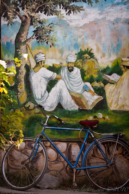 Cafe Scene, Mek'ele, Tigray, Ethiopia, 2009