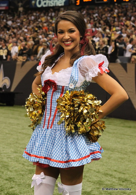 Dorothy - New Orleans Saintsations - Saints v. Steelers 10-31-10 (  sc 1 st  Fiveprime & The Worldu0027s most recently posted photos of costumes and saintsations ...