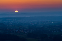 sunset near bamberg (stephan_amm) Tags: sunset beer abend village bamberg brewery tiefenellern lohndorf