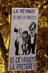 Et si possible ailleurs :) (mistigree) Tags: toulouse pancarte manifestation affiche grve manifestation27septembre2010