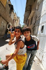 life returns to normal in Askar #2 (Michael.Loadenthal) Tags: kids israel palestine westbank military incursion israelipalestinianconflict israelandpalestine nablusregion askarrefugeecamp militaryinvasion westbankandgazastrip