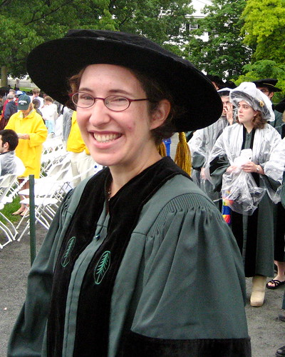 in line for commencement