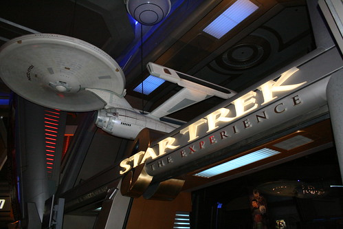 Entrance to Star Trek The Experience