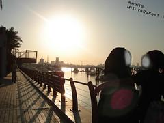 HaaK KiLy '6uMiNy Laak ,, e7ToWeNi,, 7inniNeey;*** (Kwai7a ..  MiSs_7aRaKaaT ;)!) Tags: sunset sea sun love girl marina kid women hug together kuwait kw q8