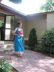 bridesmaid (elwirz) Tags: wedding jessicas bluedress
