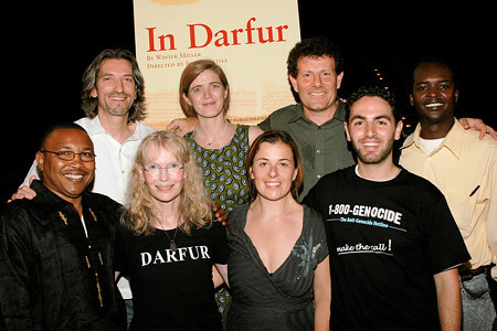 'In Darfur' Panel: Mia Farrow, Nicholas Kristof, Samantha Power et al.