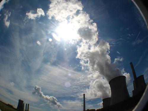 Coal power station near Neurath, Germany