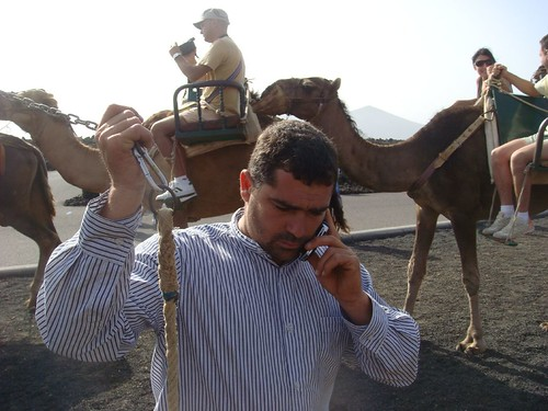 Camel driver with mobile