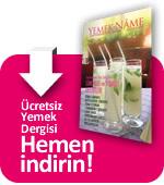 Ücretsiz Yemek Dergisini indirmek için tıklayın