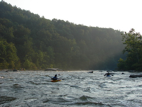 Evening Kayakers