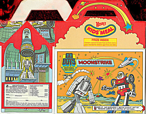 Wendy's Kids' Meal :: GoBots - Moonstrike (( 1986 )) i