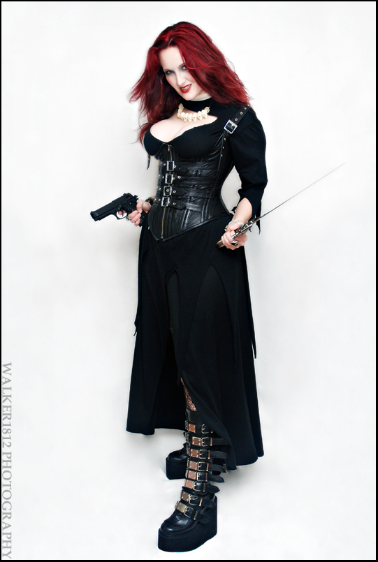 Me as Kali from a shoot for my graphic novel, Fas Ferox. Photographer Jesse Walker