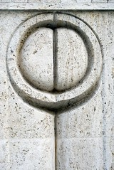 Gate of the Kiss - detail #01 (Adrian_I) Tags: sculpture romania brancusi targujiu nikond80 gateofthekiss zoomnikkor18200mmvr