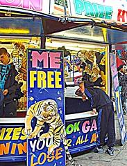 Images from Preston's Whitsun Fair (Tony Worrall Foto) Tags: city uk game kids fun northwest image tiger north fair lancashire traveller pay hoody preston rides win lose funfair picnik chav lancs yearly maybankholiday whitsunfair