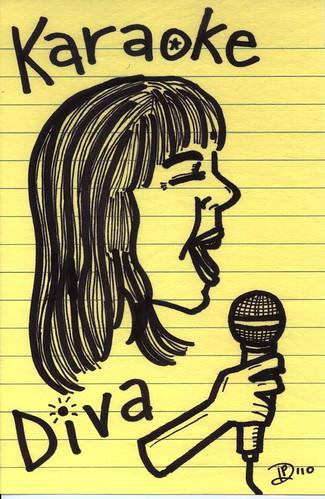 Karaoke Diva