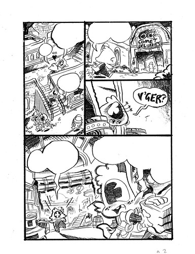 V'GER: Intergalactic Delivery Boy Page 2
