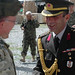 Brig. Gen. Mustafa Colak and Col. Can Bolat visit Afghan National Police (14 Jun 10)