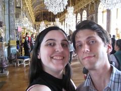 Nous à la Galerie des Glaces