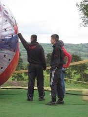 Sphereing Zorbing 16 (KidsCan Fundraiser) Tags: cancer research childrens macclesfield zorbing sphereing kidscan