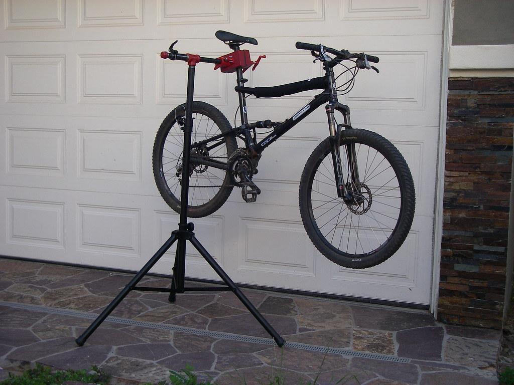 DIY Portable/Adjustable Bike Repair Stand- Mtbr.com