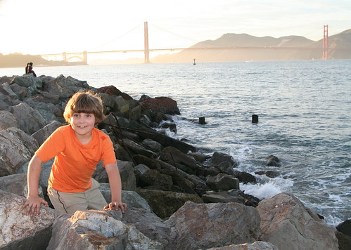 Lucas and Golden Gate