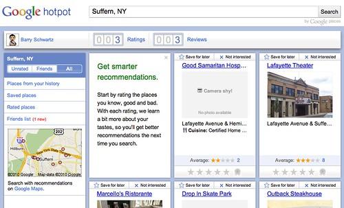 Google Hotspot