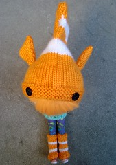 Knit Neemo hat for Shannon
