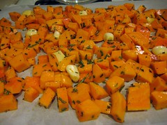 Butternut-Squash, Garlic, Rosemary, Olive Oil