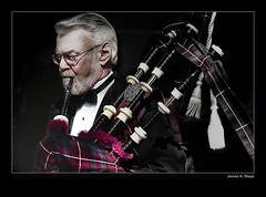Bagpipes (James A. Stepp) Tags: musician music march scotland bagpiper bagpipe