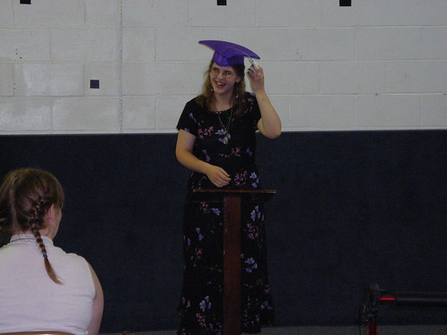 Graduation: Switching the Tassel
