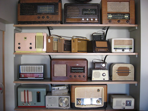 Old radios by Frants
