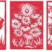 flower paper cuts