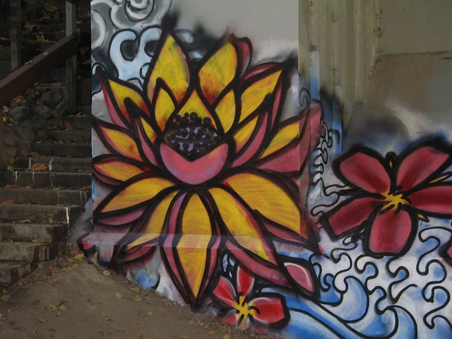 lotus graffiti